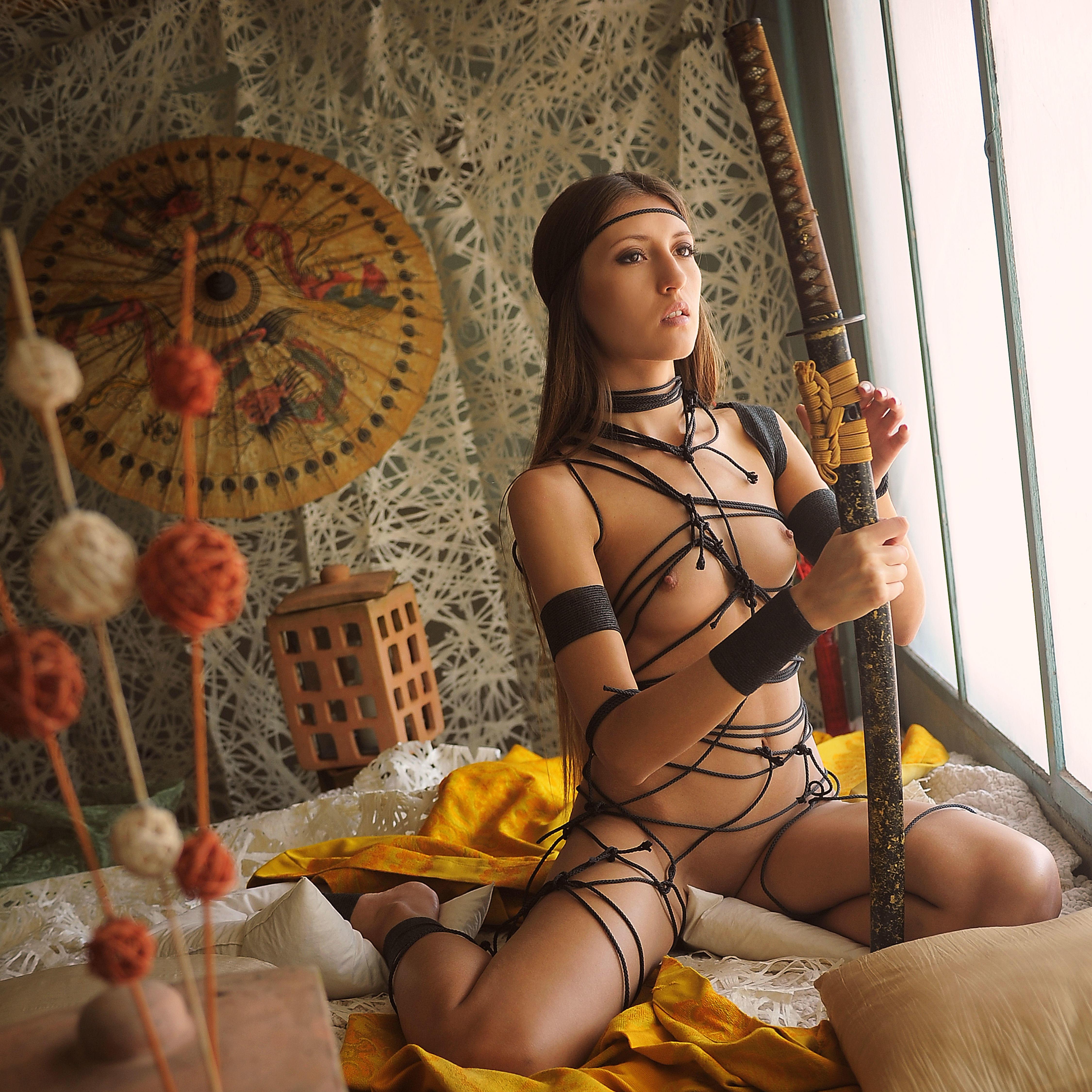 секс с самураем фото горячие потоки