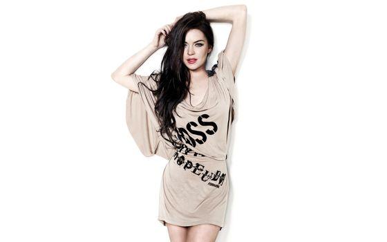 Фото бесплатно модель, Lindsay Lohan, длинные волосы