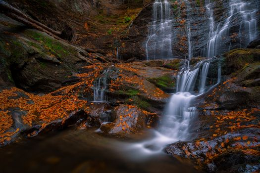 Photo free Moss Glen Falls, fall, rocks