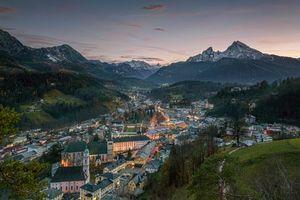 Фото бесплатно Берхтесгаден, город, Bavaria