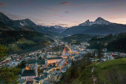 Photo free Bavaria, Germany, town