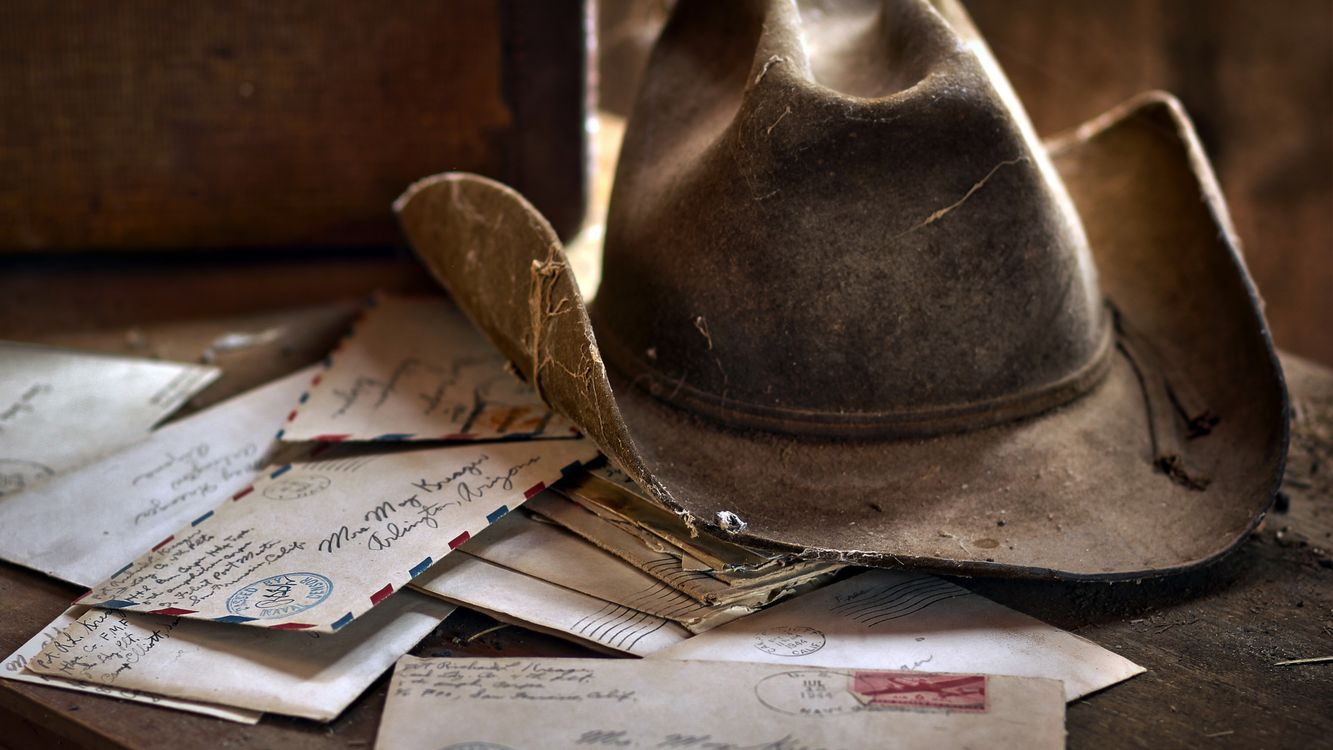 Фото бесплатно старая шляпа ковбойская пыль - на рабочий стол