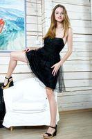 Бесплатные фото Vittoria A, модель, голая, блондинка, фотосет