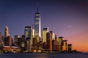 Бесплатные фото Манхэттен, Нью-Йорк, США, небоскребы