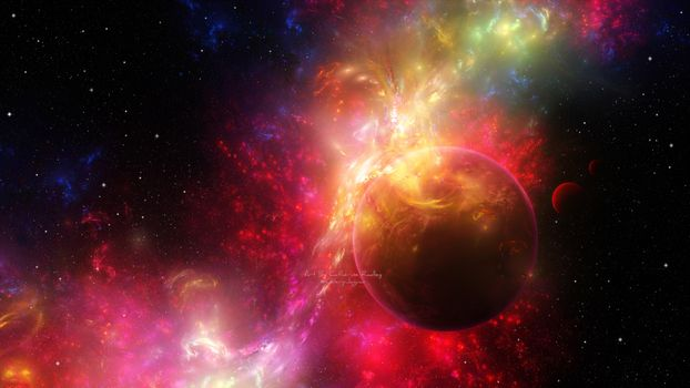 Фото бесплатно планета, Nebula, космос