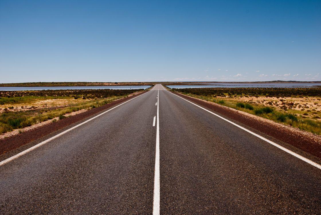 Дорога уходящая в горизонт =) · бесплатное фото