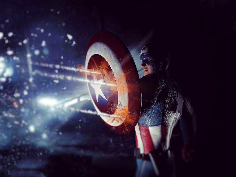Фото цифровое искусство фильмы капитан америка - бесплатные картинки на Fonwall