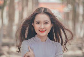 Бесплатные фото портрет,красивая,счастливая,девушка,волосы,кожа,красота