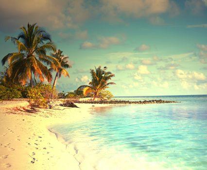 Фото бесплатно отпуск, рай, лето