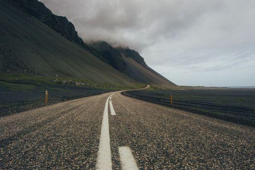 Фото бесплатно природа, дорога, горные формы рельефа