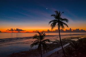 Фото бесплатно облака, океан, тропические