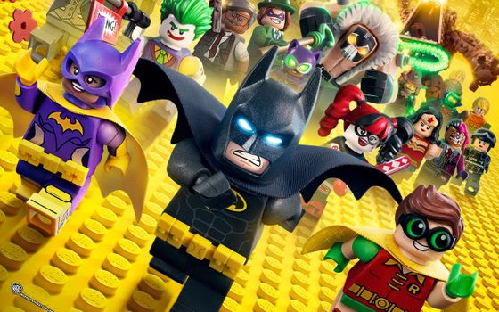 Заставки фильмы, бэтмен, The Lego Batman Movie