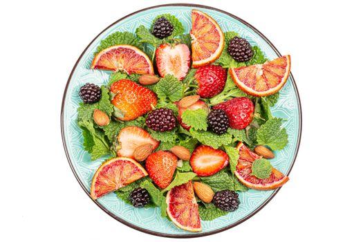 Photo free food, grapefruit, strawberry
