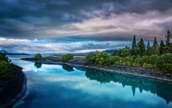 Фото бесплатно Lake Tekapo, New Zealand, красота