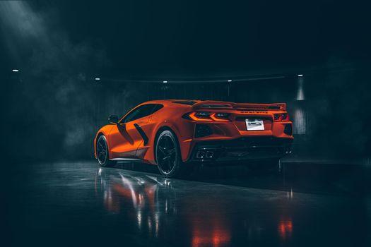 Photo free Chevrolet, Corvette, automobiles