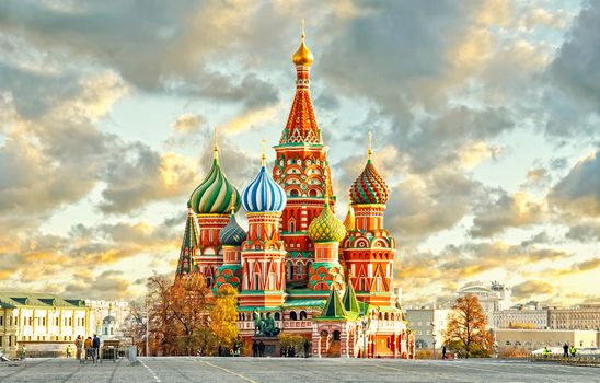 Photo free St Basils Cathedral, red square, Moscow
