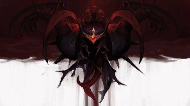 Фото бесплатно броня, корона, creepy monster