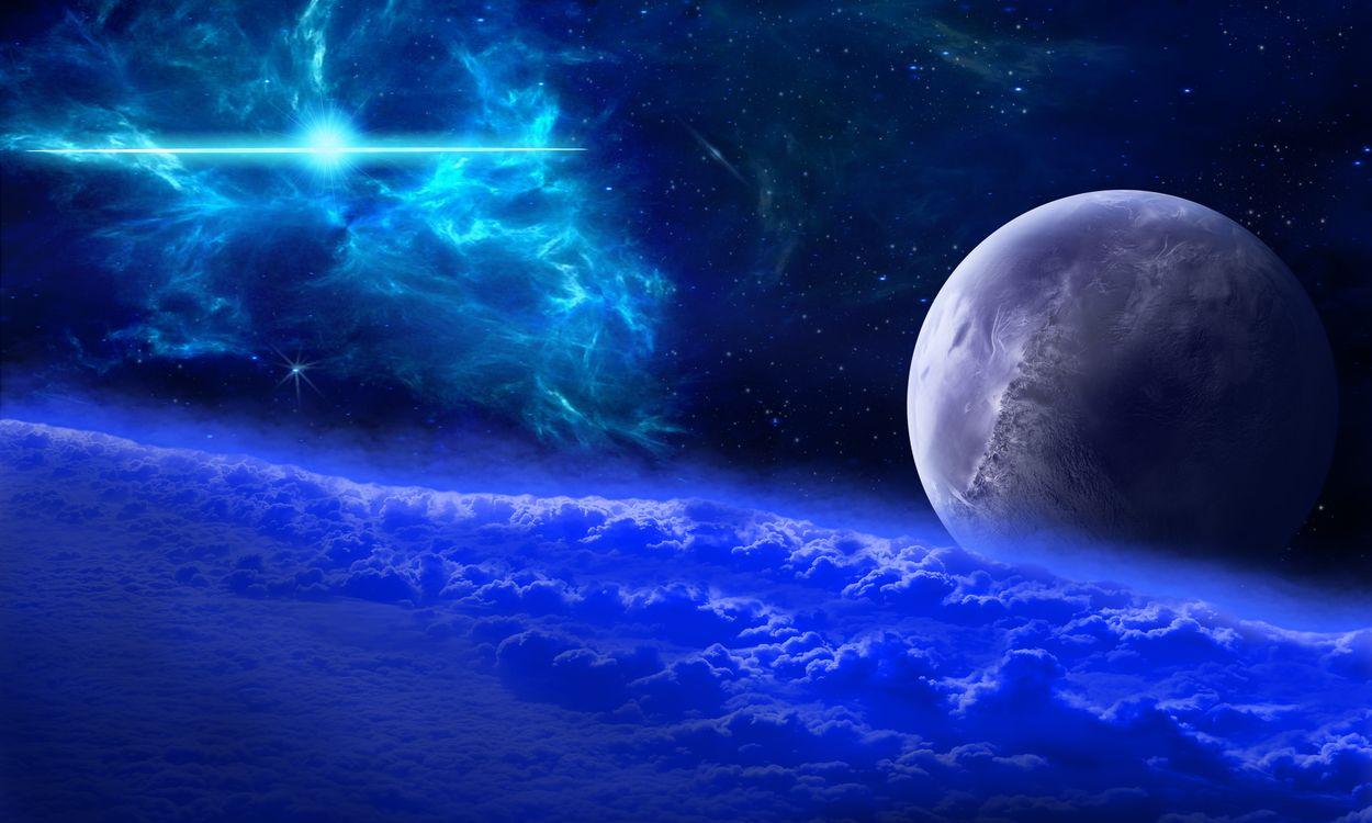 Фото бесплатно космос, атмосфера, облака - на рабочий стол