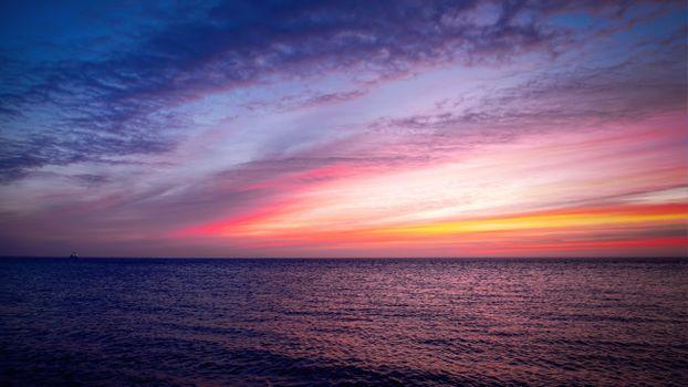 Фото бесплатно морской пейзаж, восход солнца, небо