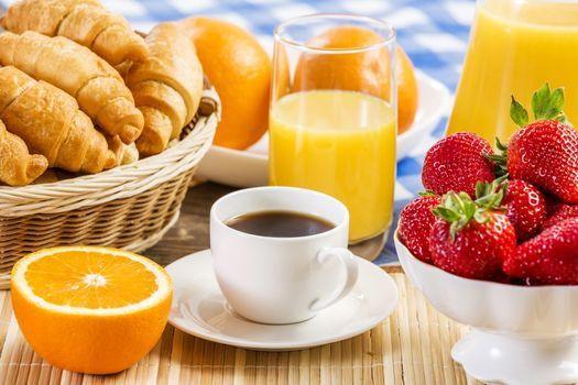 Photo free strawberries, muffins, fruits