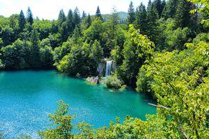 Фото бесплатно пейзаж, водохранилище, Хорватия