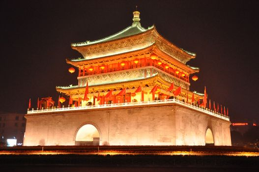 Фото бесплатно архитектура, ночь, здание