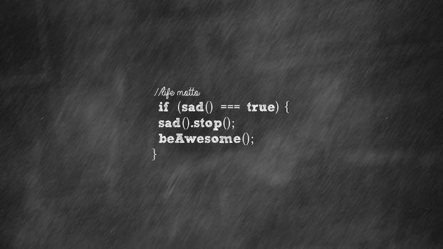Фото бесплатно код, программирование, печаль