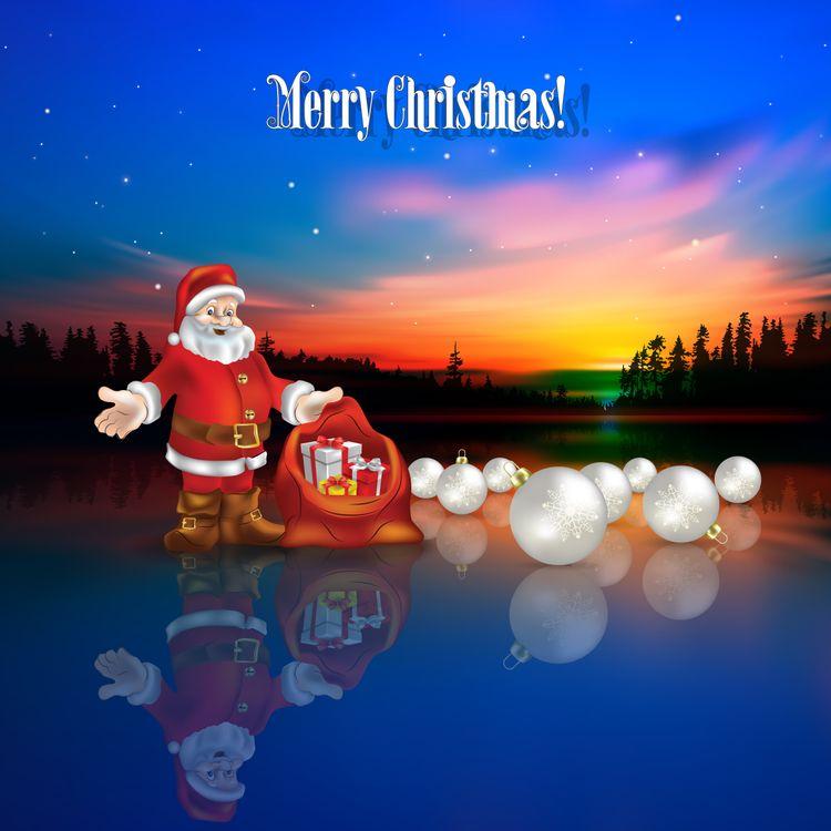 Новогодний дед мороз · бесплатное фото
