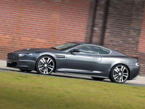 Photo free gray, aston martin dbs, Aston Martin