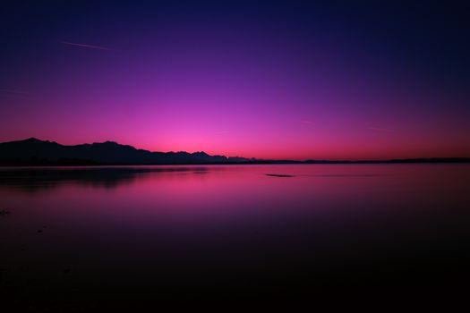 Фото бесплатно закат, небо, сумерки