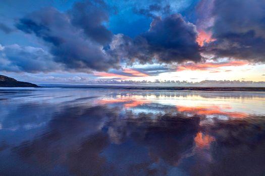 Заставки Гламорган, побережье, Уэльс