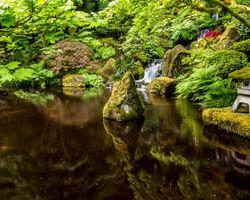 Заставки Орегон, водопад, Портленд