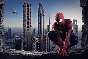 Фото бесплатно Spiderman, Человек-паук, город
