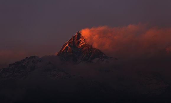 Фото бесплатно горы, Непал, ветер