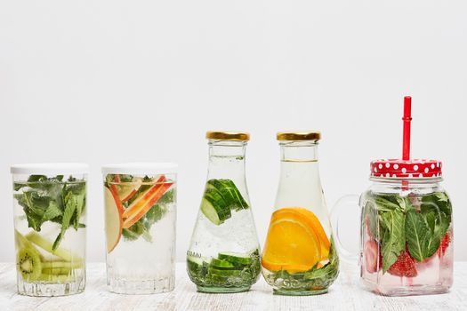 Photo free food, jar, highball glass