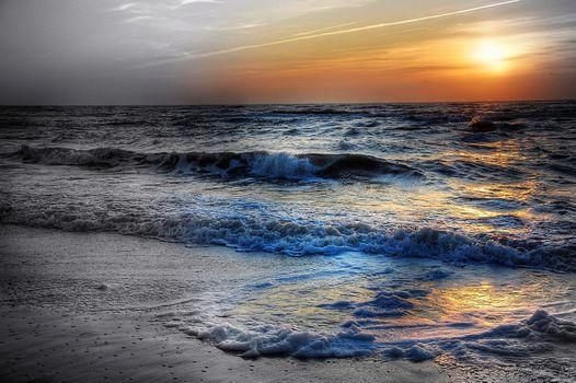 Фото бесплатно облака, Sumerki, небо
