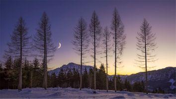Фото бесплатно Austria, закат, горы