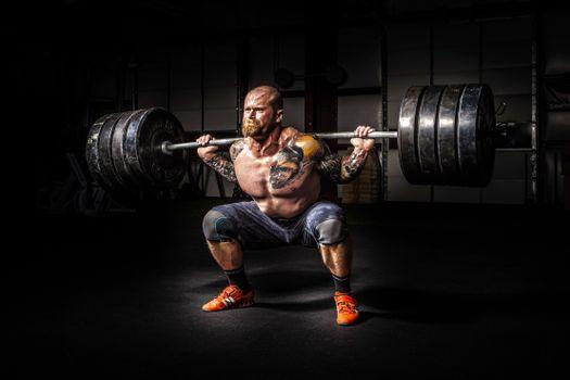 Photo free man, fitness, muscle