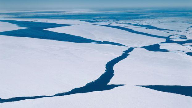 Фото бесплатно трещины, вид с воздуха, горизонт