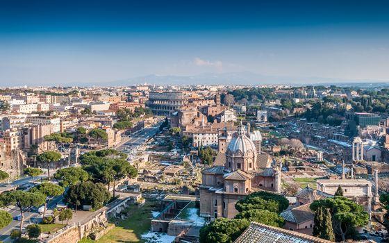 Photo free Italia, Rome, cityscape