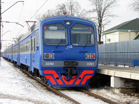 Фото бесплатно электричка, поезд, перрон