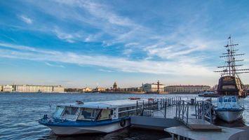 Фото бесплатно Neva river, Saint-Petersburg