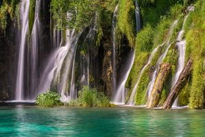 Заставки Plitvice Lakes National Park,Croatia,Национальный парк Плитвицкие озера,Хорватия,водопад,водопады,пейзаж
