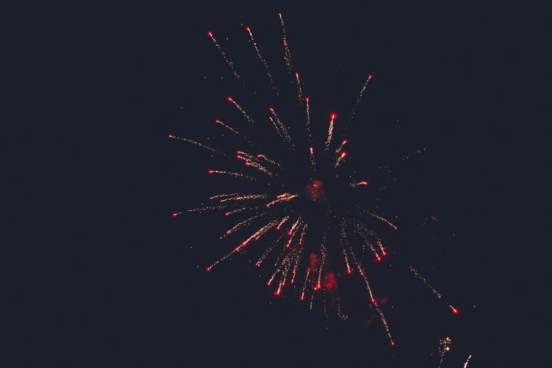 Фото бесплатно салют, небо, ночь, фейерверк, salute, sky, night, fireworks, новый год