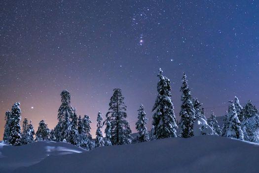 Заставки Shine, звезды, ночь