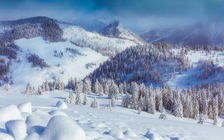 Заставки Австрия, горы, долина
