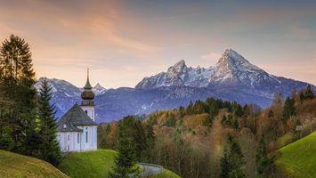 Бесплатные фото Берхтесгаден,Bavaria,Германия,горная вершина