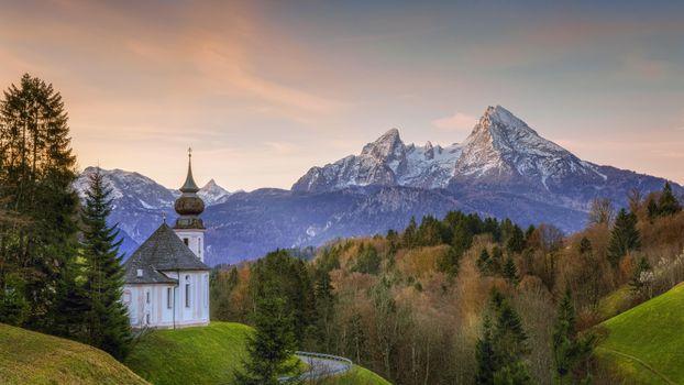 Фото бесплатно Берхтесгаден, Германия, вершина горы