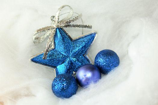 Фото бесплатно синий, рождество, рождественская елка