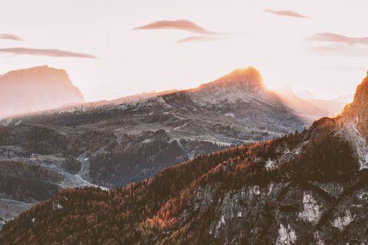 Заставки горы, Landscape, природа